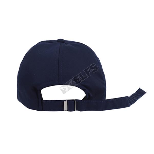 Topi Pria Korea Twill Polos Simple Baseball Cap Panjang Biru Dongker   BASEBALL TALI PANJANG  