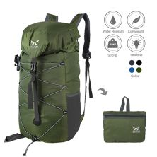 CARRIER Tas Ransel Gunung Lipat Anti Air 35L Foldable Water Resistant Carrier 019 Hijau army
