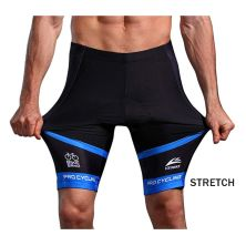 CELANA TRAINING PENDEK Celana Sepeda Padding 3D Gel Veobike Cool Max Fullprint Cycling Shorts Biru Tua