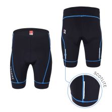 CELANA TRAINING PENDEK Celana Sepeda Padding 3D Gel Veobike Cool Max Scothlite Cycling Shorts Biru Tua