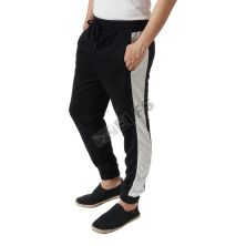 CELANA PANJANG CASUAL Celana Jogger Panjang Terry Sweat Pants List Hitam
