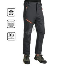 CELANA HIKING Celana Hiking Waterproof Polar Anti Dingin Outdoor Soft Shell Pants Abu Tua