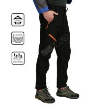 CELANA HIKING Celana Hiking Waterproof Polar Anti Dingin Outdoor Soft Shell Pants Hitam