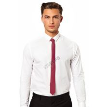 DASI SLIM Dasi Slim Formal Casual Maroon