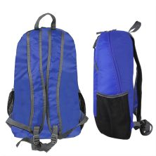 DAY PACK Elfs Shop  Tas Ransel Lipat Anti Air 22L Foldable Water Resistant Backpack 35009 ELFS Biru Tua