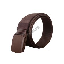 IKAT PINGGANG KANVAS, DLL IKAT PINGGANG CANVAS ANTI METAL DETECTOR TACTICAL MILITARY BELT COKLAT TUA