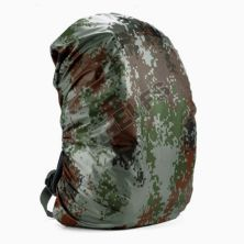 COVER BAG Cover Bag Waterproof Raincover 45 Liter Reversible Camouflage  Sarung Tas Army Outdoor bolak balik Anti Air Termurah Hijau Army