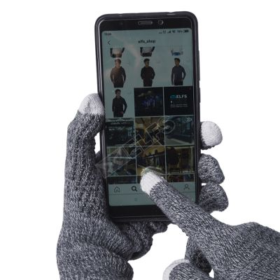 SARUNG TANGAN & MANSET Sarung Tangan Touchscreen Anti Slip Misty Abu Muda 1 sarung_tangan_touchscreen_anti_slip_misty_am_0_copy