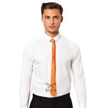 DASI SLIM Dasi Slim Formal Casual Orange