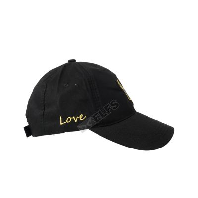 BASEBALL MOTIF Topi Baseball Unisex Twill Bordir Love 2 to3_basic_twill_love_hx_1_copy