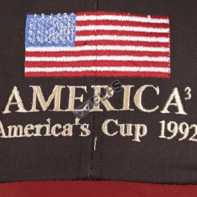 BASEBALL MOTIF TO3 BORDIR SUEDE BASEBALL CAP AMERICA-CT 3 to3_bordir_suede_baseball_cap_america_cup3