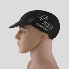TOPI RIMBA / MANCING Topi Sepeda Cycling Cap Breathable Quick Dry Bike To Work Full Print List kecil Biru Muda