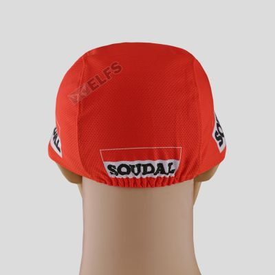 TOPI RIMBA / MANCING Topi Sepeda Cycling Cap Breathable Quick Dry Bike To Work Full Print Orange Lotto 4 to3_sepeda_lotto_soudal_or_3