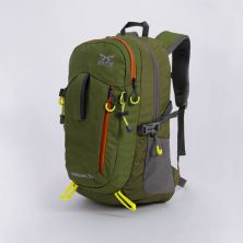 TAS GUNUNG Tas Ransel Gunung Carrier 30L Tenteng Water Resistant Hiking Bag 3D Mesh Hijau Army
