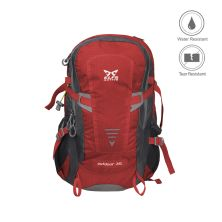 TAS GUNUNG Tas Ransel Gunung Carrier 35L Backsupport Water Resistant Hiking Bag Free Raincover Merah Cabe