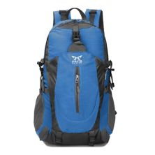 TAS GUNUNG TAS RANSEL GUNUNG CARRIER 40L SEMI WATER RESISTANT OUTDOOR HIKING BAG FK8607 BIRU TUA