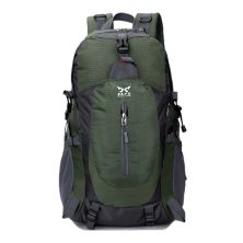 TAS GUNUNG TAS RANSEL GUNUNG CARRIER 40L SEMI WATER RESISTANT OUTDOOR HIKING BAG FK8607 HIJAU ARMY