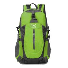 TAS GUNUNG TAS RANSEL GUNUNG CARRIER 40L SEMI WATER RESISTANT OUTDOOR HIKING BAG FK8607 HIJAU MUDA