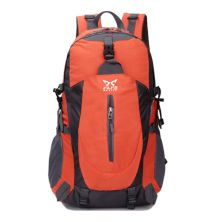 TAS GUNUNG TAS RANSEL GUNUNG CARRIER 40L SEMI WATER RESISTANT OUTDOOR HIKING BAG FK8607 ORANGE