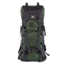 TAS GUNUNG TAS RANSEL GUNUNG CARRIER 605L BACKSUPPORT WATER RESISTANT OUTDOOR HIKING BAG FK0008 HIJAU ARMY