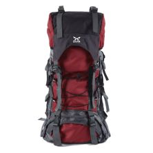 TAS GUNUNG TAS RANSEL GUNUNG CARRIER 605L BACKSUPPORT WATER RESISTANT OUTDOOR HIKING BAG FK0008 MERAH