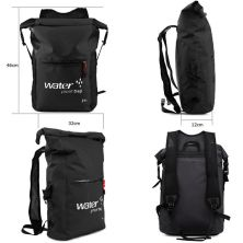 TAS GUNUNG DRY BAG BACKPACK WATERPROOF 25 LITER  TAS RANSEL ANTI AIR 100 HITAM