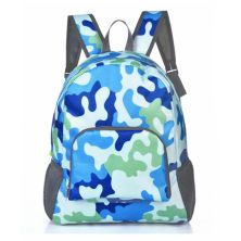 DAY PACK TAS RANSEL LIPAT ANTI AIR 25L FOLDABLE WATER RESISTANT BACKPACK 029 ELFS ARMY BIRU MUDA
