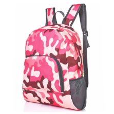 DAY PACK TAS RANSEL LIPAT ANTI AIR 25L FOLDABLE WATER RESISTANT BACKPACK 029 ELFS ARMY PINK MUDA