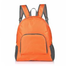 DAY PACK TAS RANSEL LIPAT ANTI AIR 25L FOLDABLE WATER RESISTANT BACKPACK 029 ELFS ORANGE