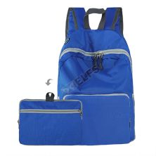 DAY PACK Tas Ransel Lipat Anti Air 20L Foldable Water Resistant Backpack 35020 Biru Tua