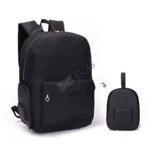 TAS LIPAT WATERPROOF Tas Ransel Lipat Anti Air 25L Foldable Water Resistant Backpack M35016 Hitam