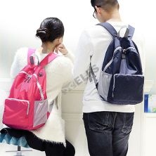 DAY PACK Tas Ransel Lipat Anti Air 20L Foldable Water Resistant Backpack 35020 Pink Tua