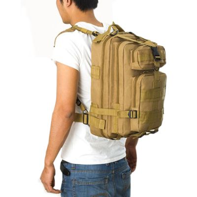 TAS RANSEL TAS RANSEL TACTICAL WATERPROOF 3P ARMY LIBANON BACKPACK FK9251 Khaki 3 trim_waterproof_tactical_army_fk9251_kh_2