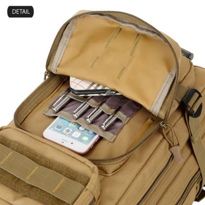 TAS RANSEL TAS RANSEL TACTICAL WATERPROOF 3P ARMY LIBANON BACKPACK FK9251 Khaki 4 trim_waterproof_tactical_army_fk9251_kh_3