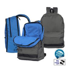 TAS RANSEL Tas Ransel Backpack Reversible 2in1 Abu Biru