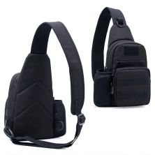 TAS PUNDAK TAS CROSSBODY TACTICAL WATERPROOF LIBANON SLINGBAG FK9301 HITAM