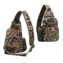 TAS PUNDAK TAS CROSSBODY TACTICAL WATERPROOF LIBANON SLINGBAG FK9301 COKLAT